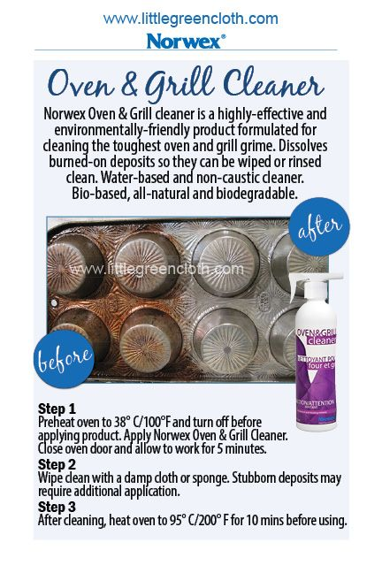 Norwex Oven and Grill Cleaner cleans dirty pans. To order contact me kim.cleangreen@inbox.com www.kimbricko.norwex.biz