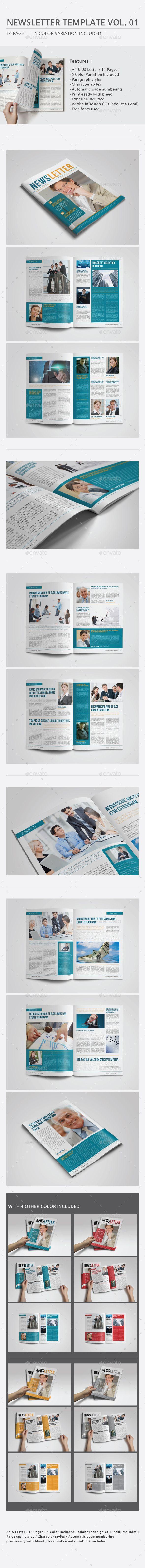 Newsletter Template Vol.01 - Newsletters Print Templates Download here : https://graphicriver.net/item/newsletter-template-vol01/10158059?s_rank=219&ref=Al-fatih