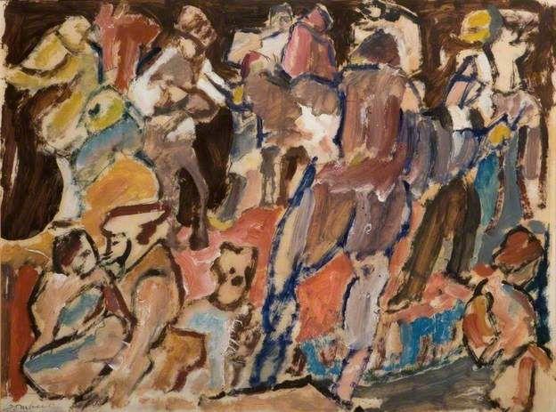 David Bomberg Carnival 1920-22