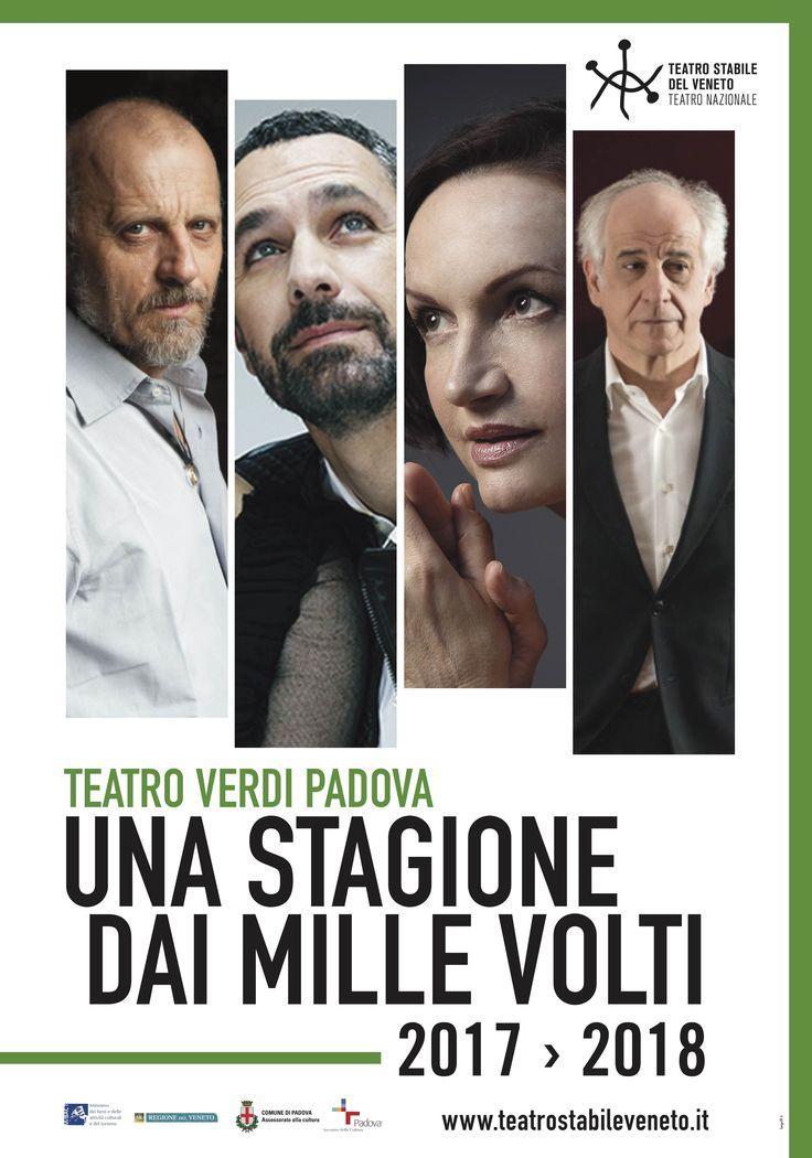 Una stagione dai mille volti vi aspetta al Teatro Verdi di Padova! http://www.teatrostabileveneto.it/