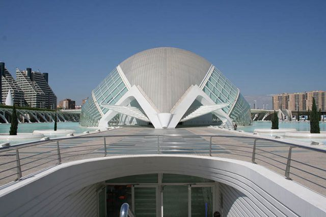 Architecture City Of Art And Sciences Calatrava