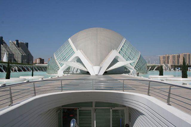 Architecture City Of Art And Sciences Calatrava