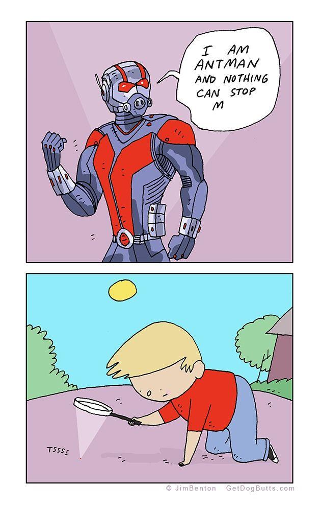 Segun la ciencia, Ant-Man es el superheroe mas poderoso