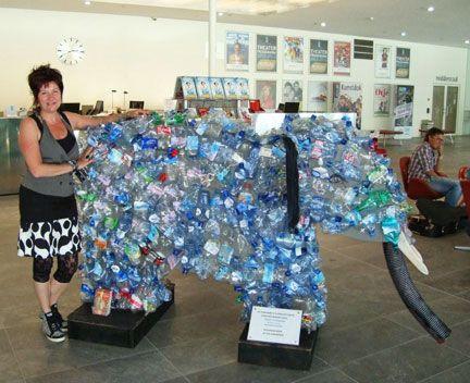 kunst met afval