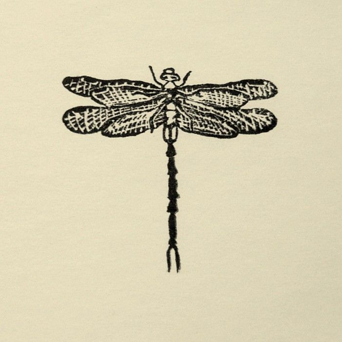 Rubber Stamp №128 — Dragonfly