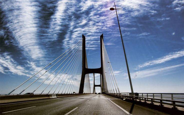 Ponte Vasco da Gama,Portugal