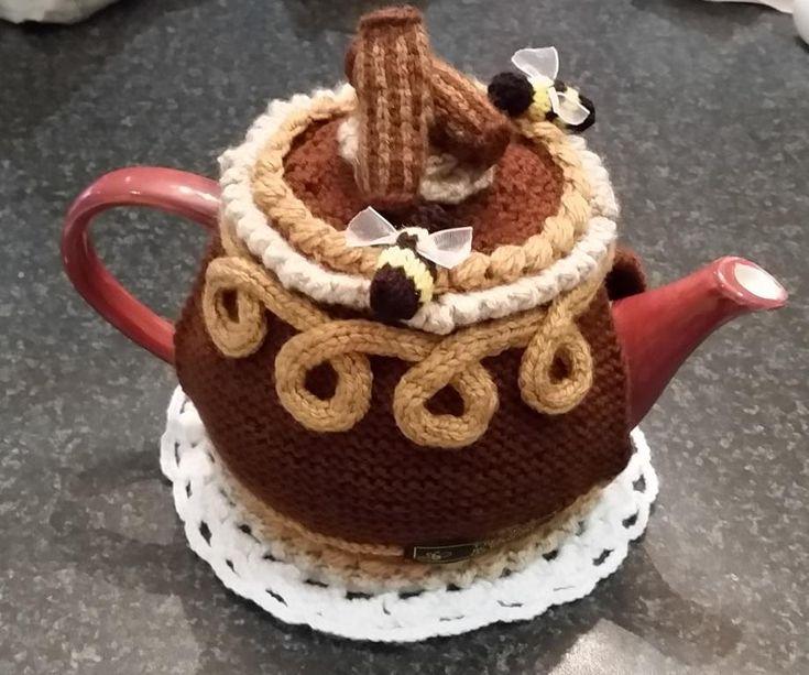 200 Best Tea Time Images On Pinterest Crochet Tea Cosies Knit