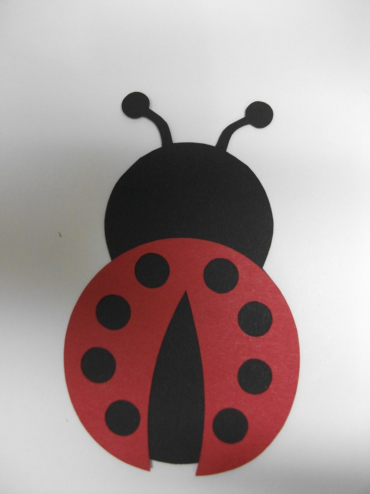 Lady Bug made on my silhouette