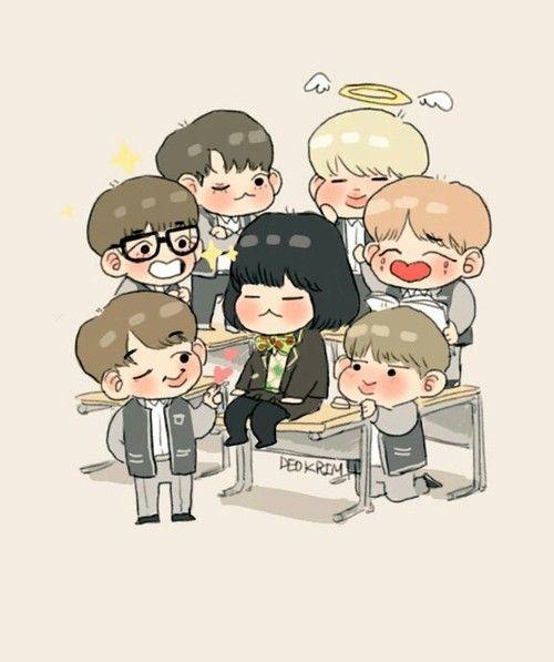 BTS 방탄소년단 Fanart BTS RUN EP 11