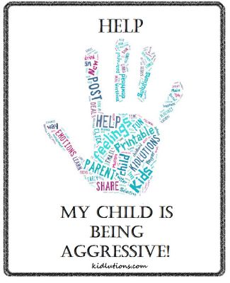 Help! My child is being #aggressive!  Help for parents/cargivers! #behavior #ece