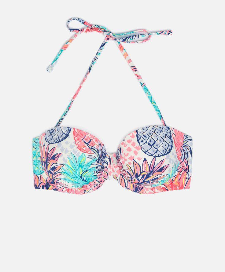 Bandeau bikini piñas con push up extraíble - OYSHO