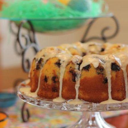 Best Lemon Blueberry Bundt Cake