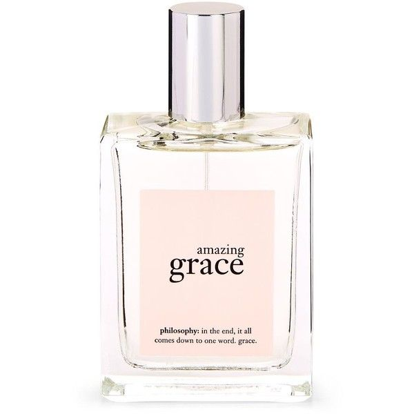 Philosophy Amazing Grace Perfume/2 oz. ($40) ❤ liked on Polyvore featuring beauty products, fragrance, blossom perfume, perfume fragrance, philosophy fragrance, parfum fragrance and flower fragrance