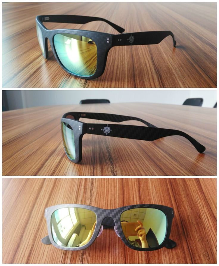 Carbon Fiber Sunglasses.