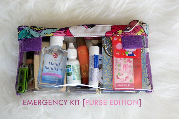 Emergency Kit {Purse Edition} | Delighted Images