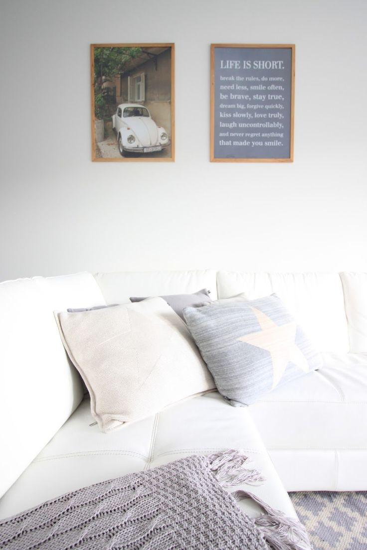 Valkoinen koti, sisustus