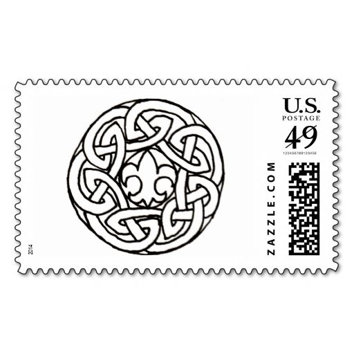309 best irish postage stamps images on pinterest invites postage boy scout knot stamp this is customizable to put a personal touch on your mail reheart Images