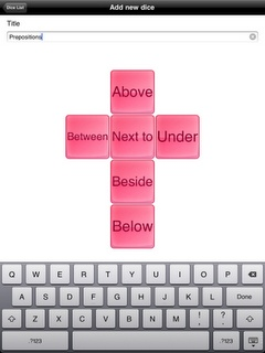 make your own dice app. GREAT for slp's!