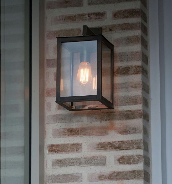 Wall light with Edison Squirrel bulb