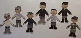 Anna idean kiertää!: Seitsemän veljestä nuket