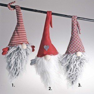 Ljuvlig tomte som har ståltråd i mössan för att kunna hängas upp och formas som man vill. Finns i tre olika utföranden.Total höjd: 60cm repin & like. listen to Noelito Flow songs. Noel. Thanks https://www.twitter.com/noelitoflow