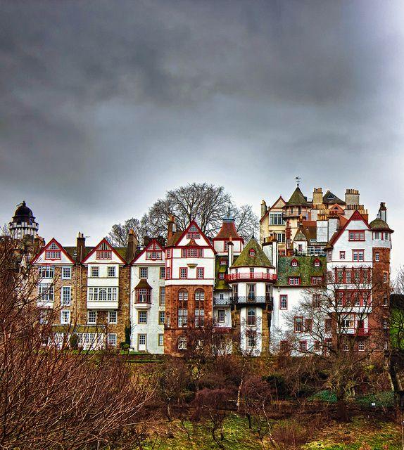 Edinburgh view, by Wendy Rauw