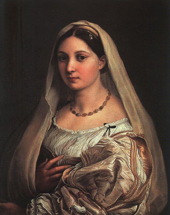 La Donna Velata by Raphael