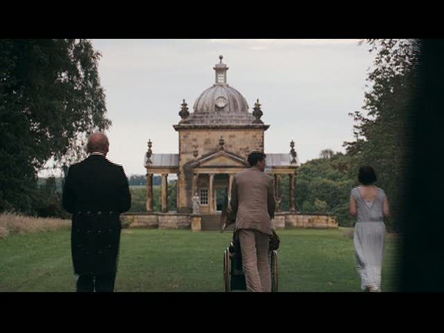 Brideshead Revisited, filmed at the Temple of the Four Winds at Castle Howard, Yorkshire, England, UK.