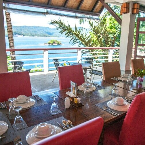 Dine and enjoy our majestic  panorama overlooking beautiful Lembeh Strait #dabirahe #lembehhills #bitung #dive #lembeh #holiday #spa # travel #relax