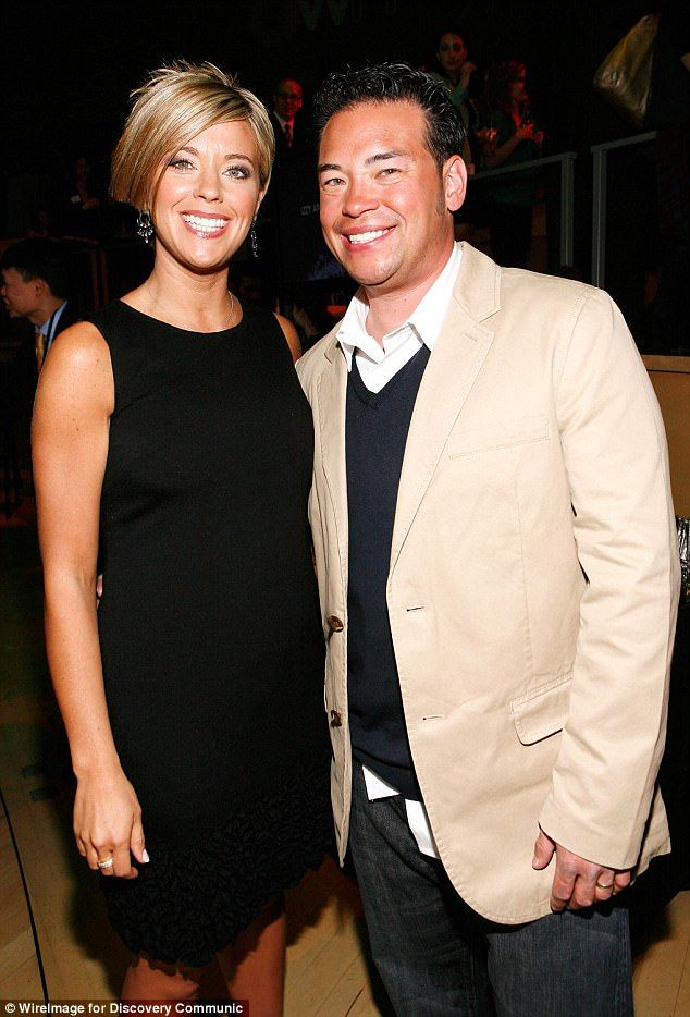 Still at odds:Kate and Jon Gosselin got into such a big fight in Pennsylvania on Tuesday that police were called; seen in 2009