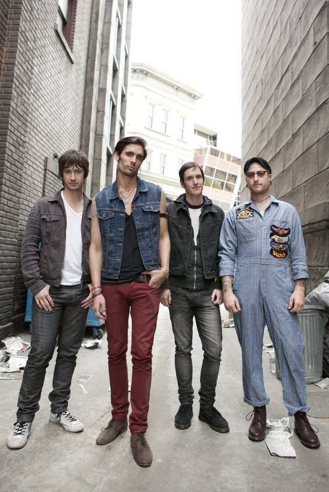 Alternative rock band All-American Rejects will perform with Boys Like Girls on Oct. 28 at the Crystal Ballroom in Portland.