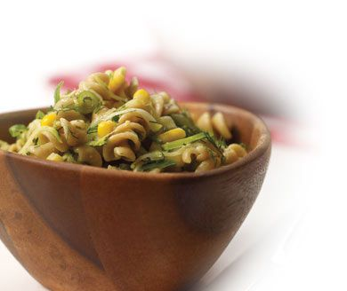 Looking for a new delicious summer recipe? Treat your dinner guests to Kitchen Expert Anna Olson's light, spring pasta salad loaded with zucchini, corn, and dill. http://bit.ly/24WVEdv