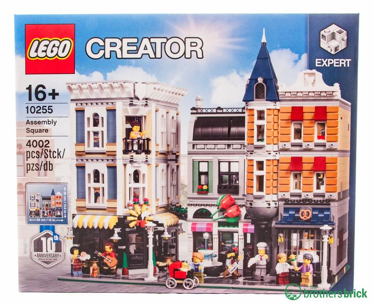 LEGO's biggest modular yet: 10255 Assembly Square [Review]