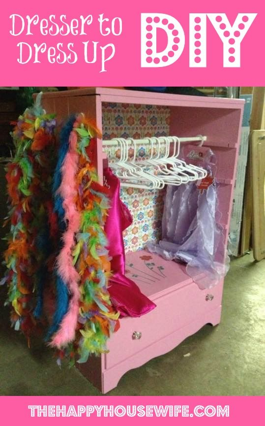 DIY Project: Dresser to Dress Up DIY Makeover | The Happy Housewife