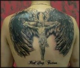 Crucifix Tattoos And Designs-Crucifix Tattoo Ideas-Pictures-And Meanings