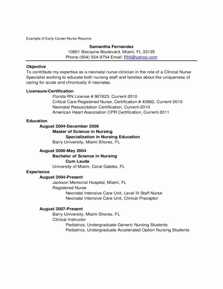 30+ Objective statement for nurse practitioner school resume inspirations