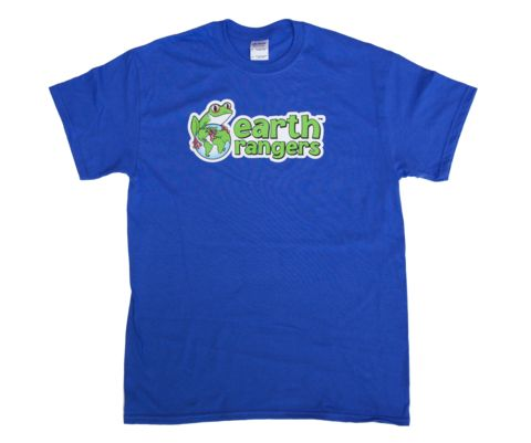 Adult sized Earth Rangers' shirts now available at The Earth Rangers Shop