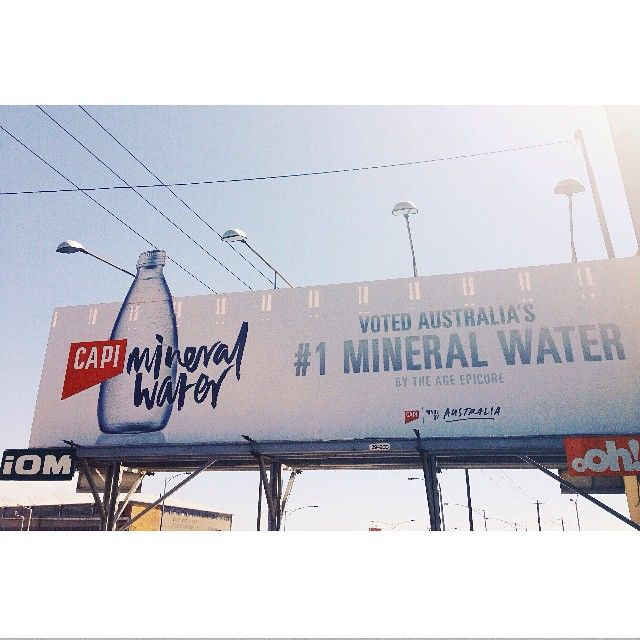 """""""Could tolerate being stuck in traffic today when this was our view. Great work @can_i_play  #capisparkling"""""""