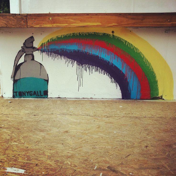 TONY GALLO street art! Padova Italy