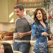 Carlos Ponce and Maria Canals-Barrera in Cristela (2014)