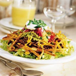 Taco Salad with Tortilla Whiskers Recipe: Recipe, Mr. Tacos, Weights Watchers Chicken, Mexicans Food, Weights Watchers Tacos Salad, Taco Salads, Chicken Tacos Salad, Tacos Night, Tortillas Whisker