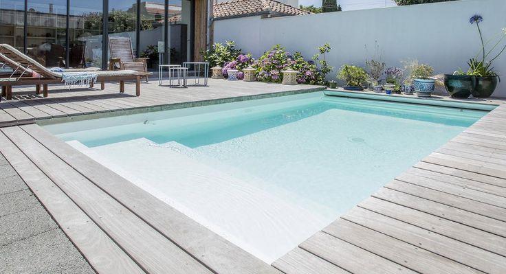 Les 25 meilleures id es de la cat gorie piscine 10m2 sur for Prix piscine 10m2