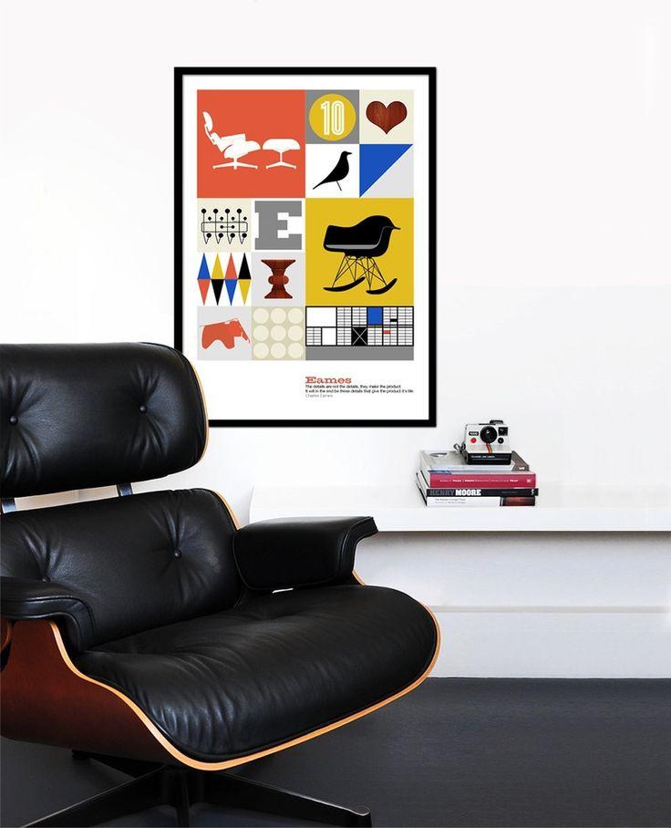 De Eames Lounge Chair is misschien wel de meest #iconische #fauteuil die bestaat. De #Eames Lounge 670, zoals deze #loungestoel officieel heet, is in 1956 ontworpen door Charles Eames en zijn echtgenote Ray Kaiser. De #design #icon Eames Lounge Chair is permanent opgenomen in de collectie van het Museum of Modern #Art in New York!