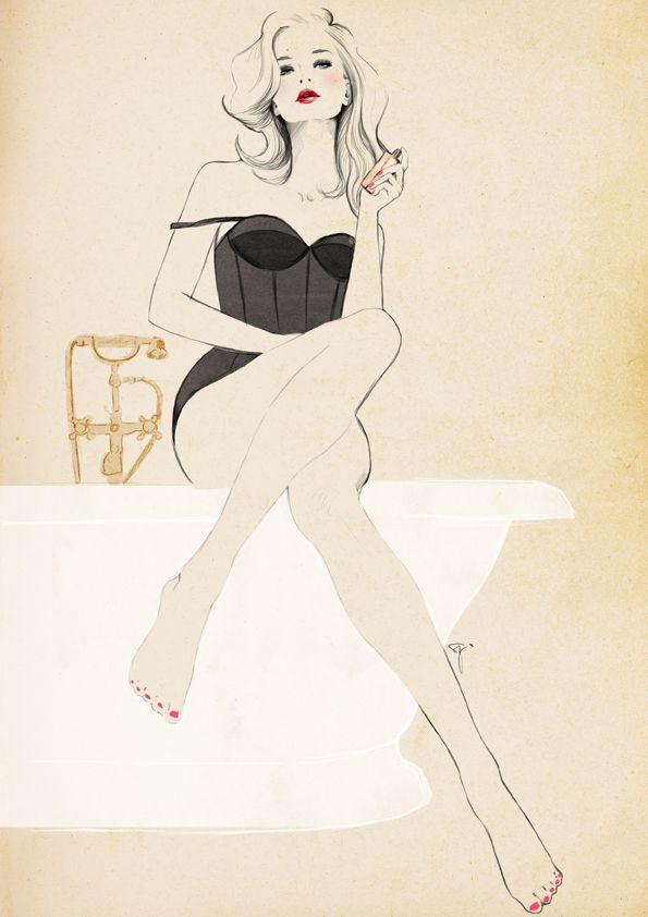 Perfume art by Sandra Suy.