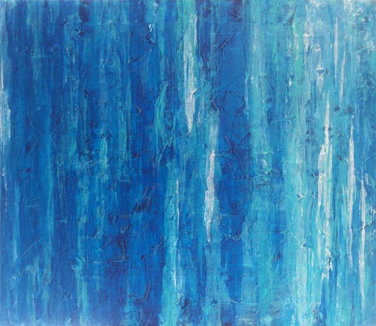 Абстрактная живопись. Акрил. Холст на подрамнике 100 х 80 см.