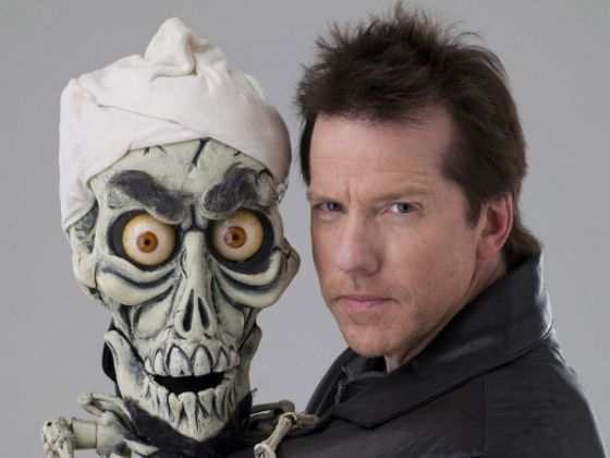 comedian Jeff Dunham and his puppet