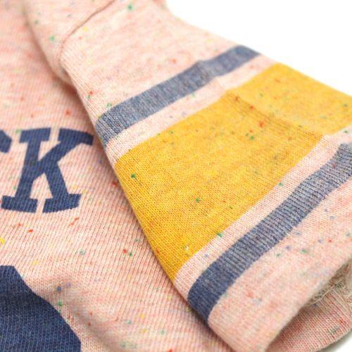 DENIM DUNGAREE(デニム&ダンガリー):テンジクフットボールT 6Pピンク の通販【ブランド子供服のミリバール】