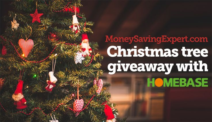 Homebase Real Xmas Tree Giveaway - Ends 10 December 2014 - MoneySavingExpert.com Forums  #Christmas #Xmas #Money #MSE