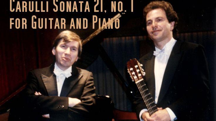 Carulli Duo Sonate op. 21 no. 1 /  Horst Sohm guitar · Sorin Melinte piano