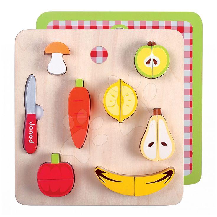 Hľadáte jedinečné doplnky do detskej kuchynky? Súprava ovocia a zeleniny Janod je vyrobená z kvalitného dreva, výborne sa hodí do kuchynky vášho malého kuchára alebo do detského obchodu.
